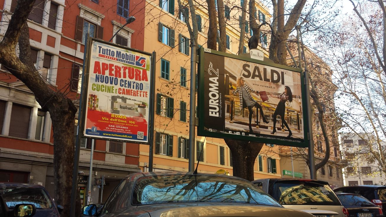 Re di Roma cartelloni febb 15