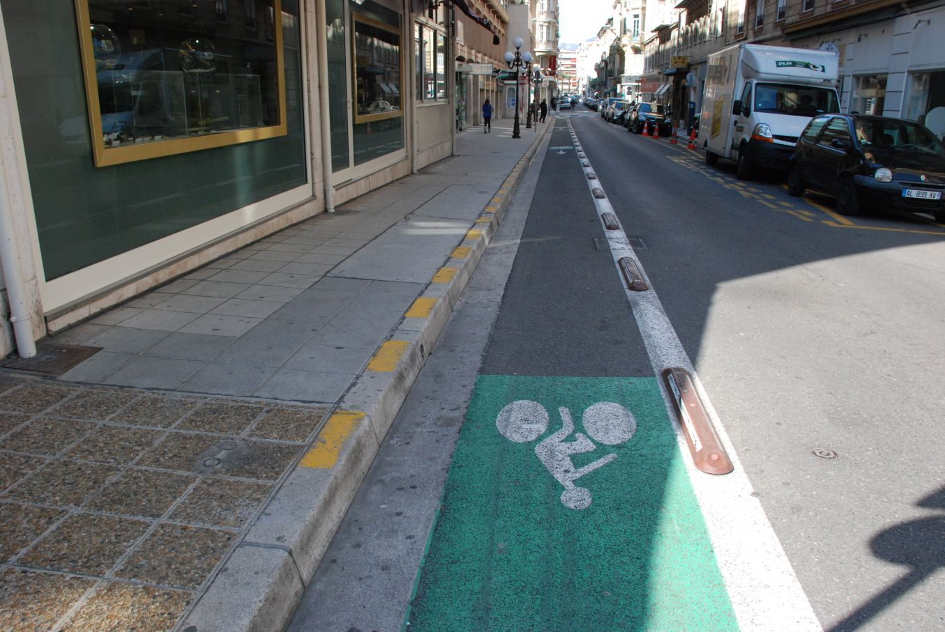 Pista ciclabile nizza