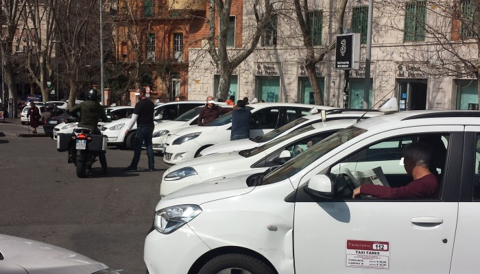 Taxi a Roma 3