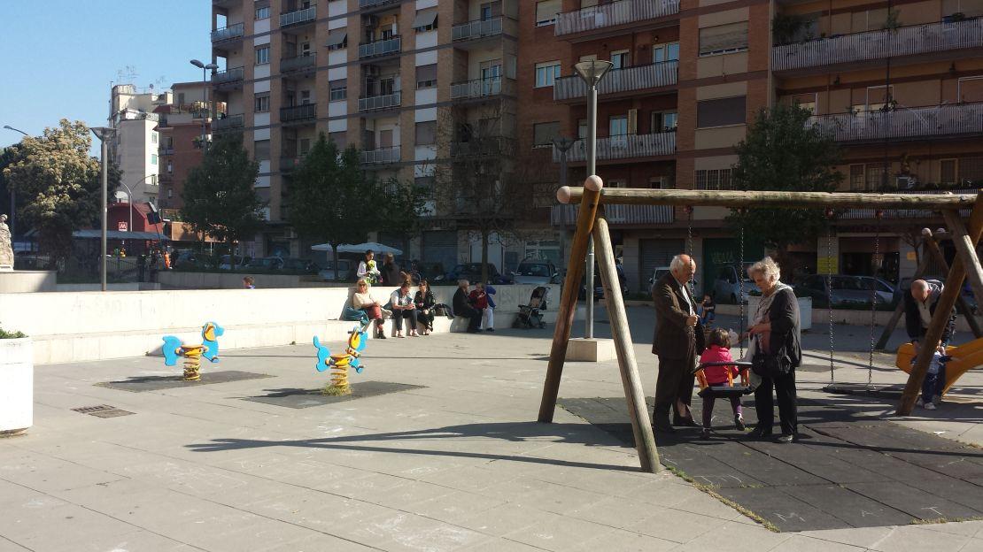 Metro b1 Jonio giardino via Gorgona