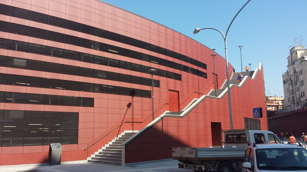 Metro b1 Jonio parcheggio
