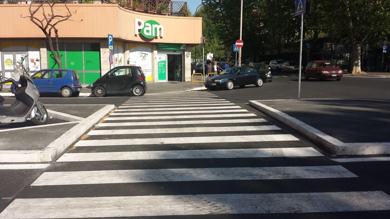 Metro b1 Jonio strisce via Scarpanto