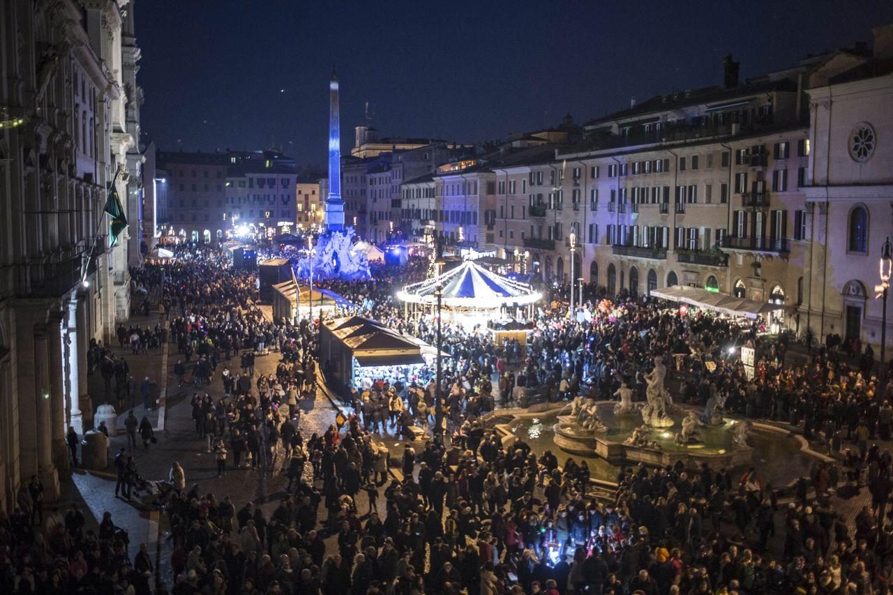 Piazza Navona nel Natale 2014