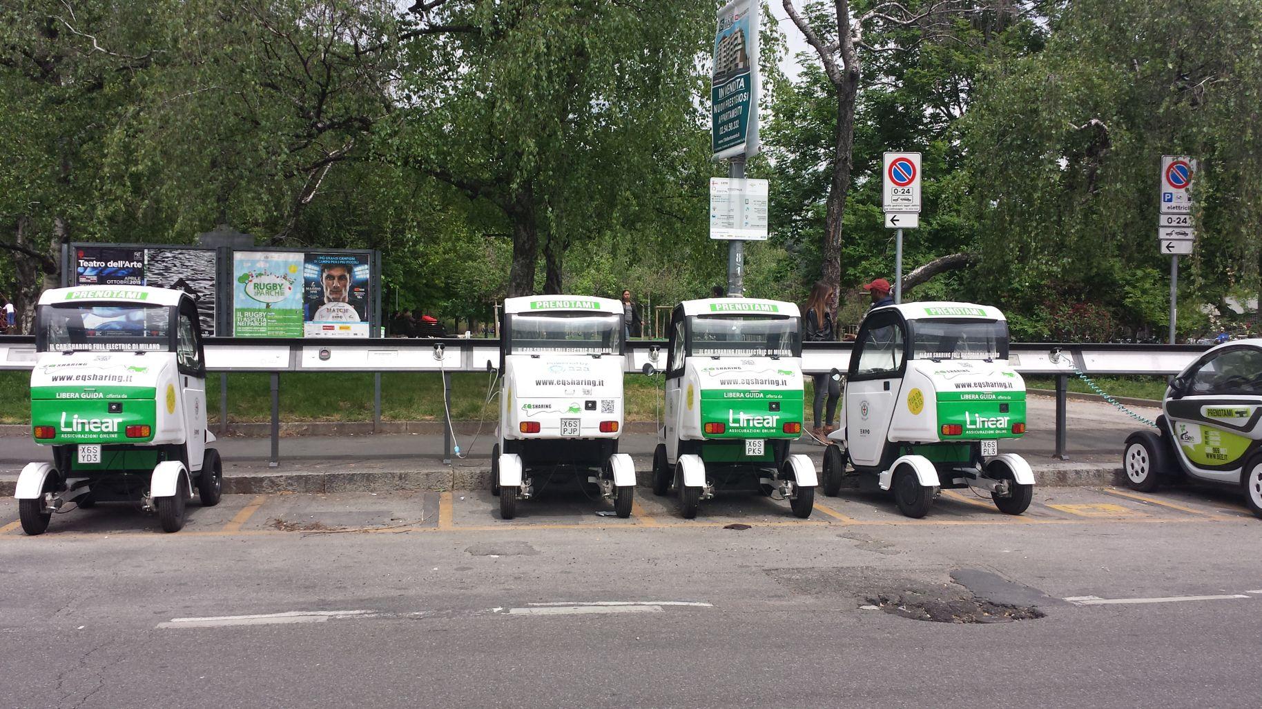 Veicoli elettrici Milano