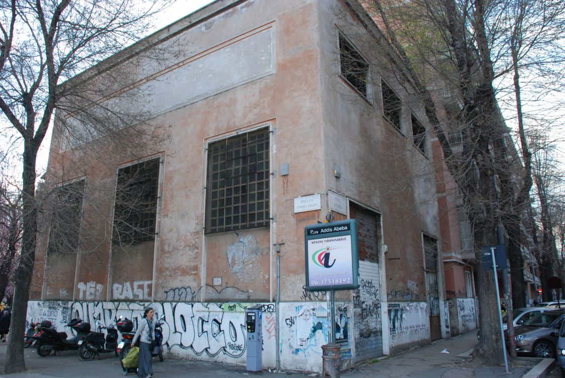 palazzo Atac fronte