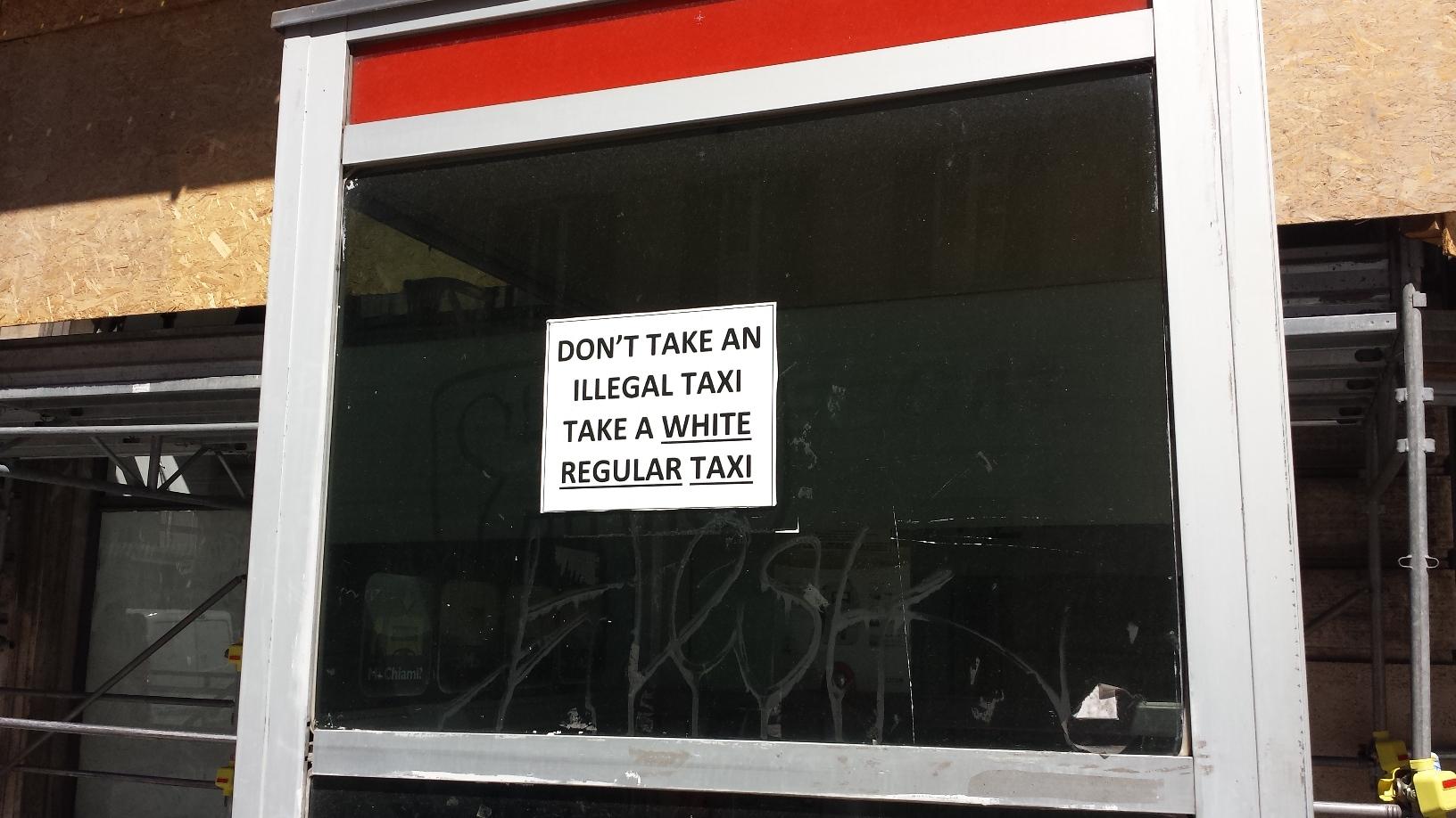 taxi regolari