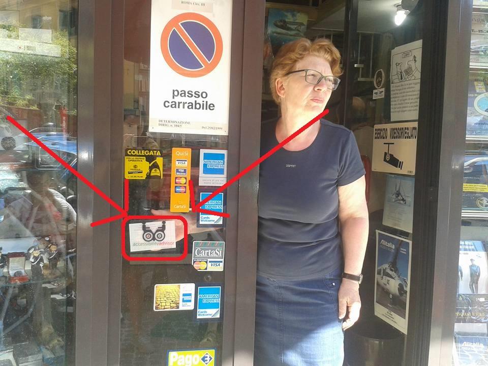 negozi accessibili disabili