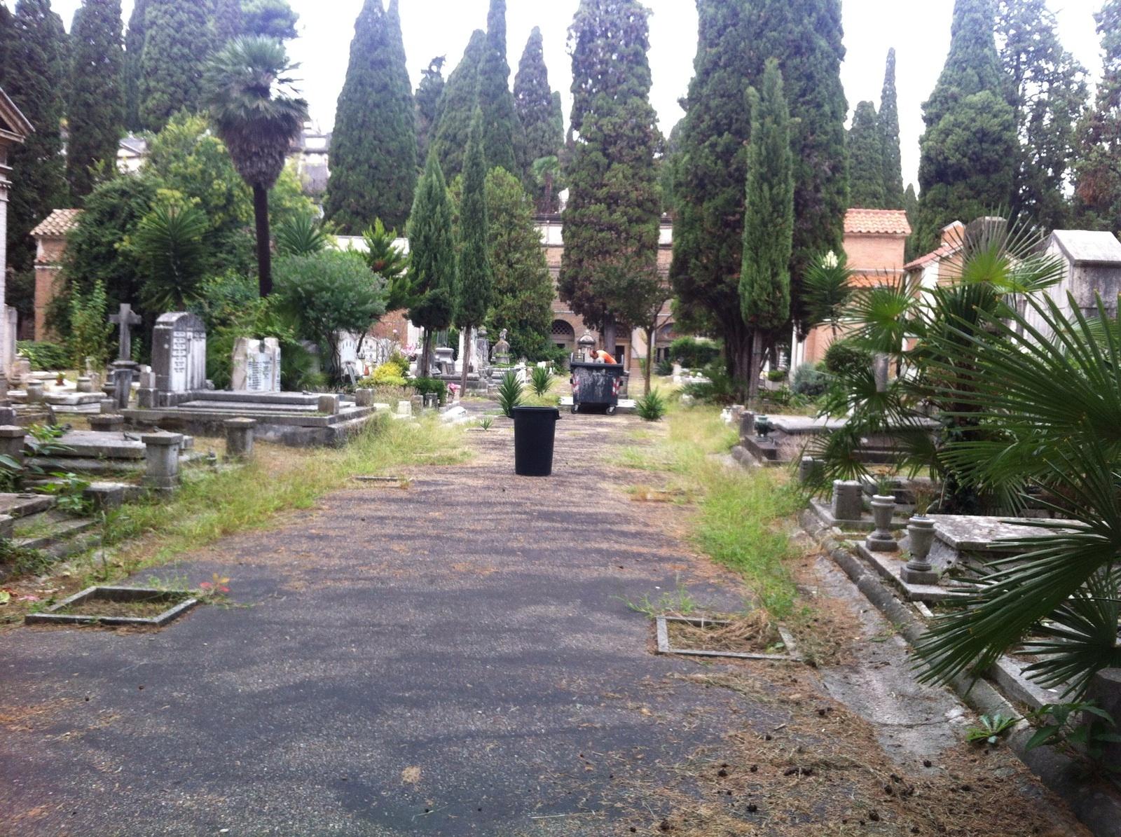 Cimitero Verano degrado 2