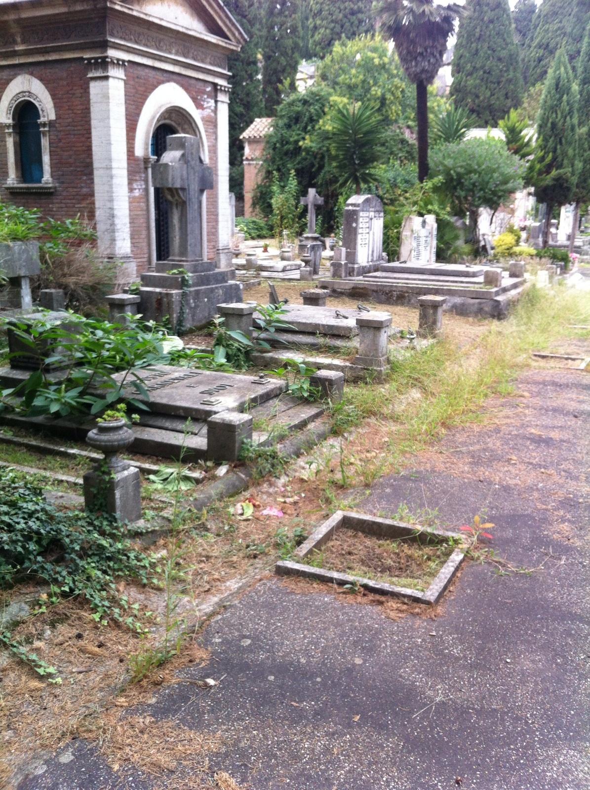 Cimitero Verano degrado 3