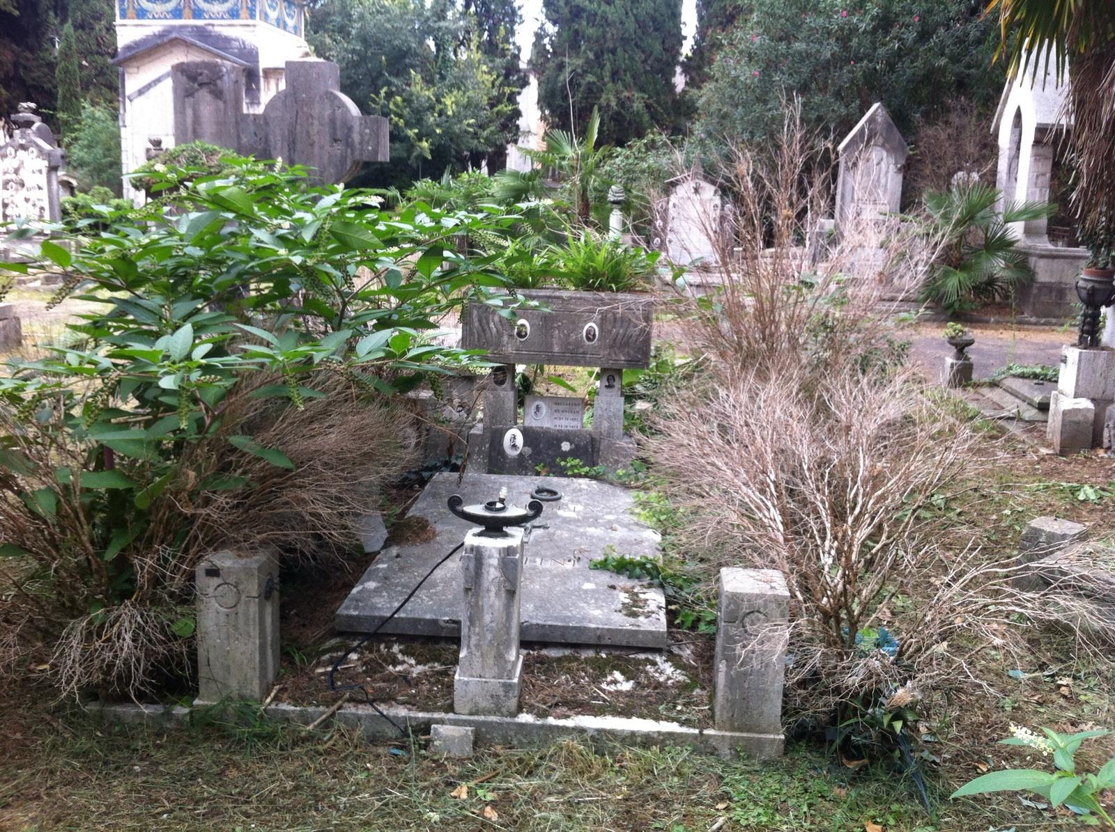 Cimitero Verano degrado 6