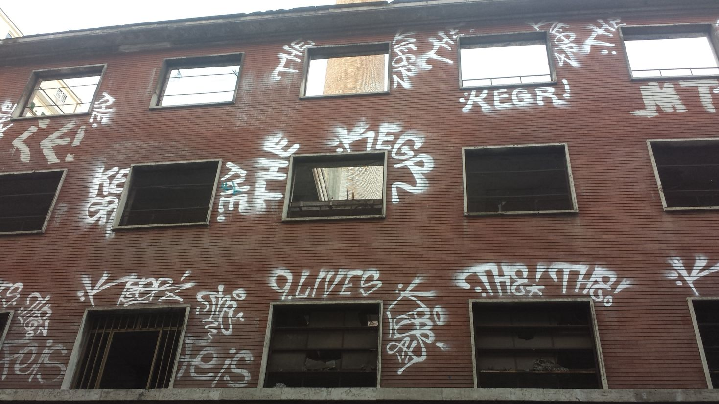 Ex fabbrica via Noto Roma 2