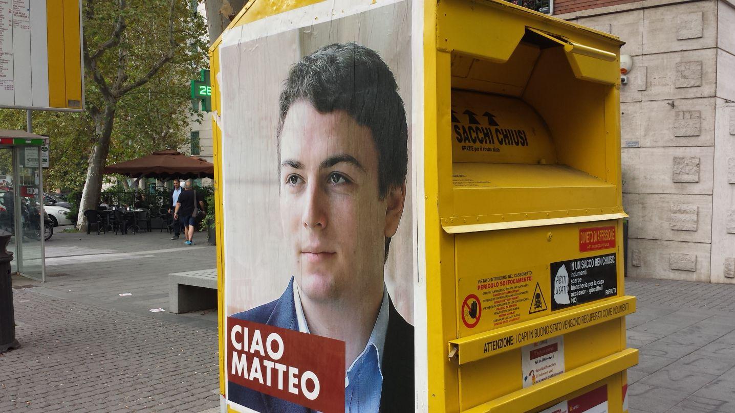 Manifesti abusivi Matteo Bonetti8