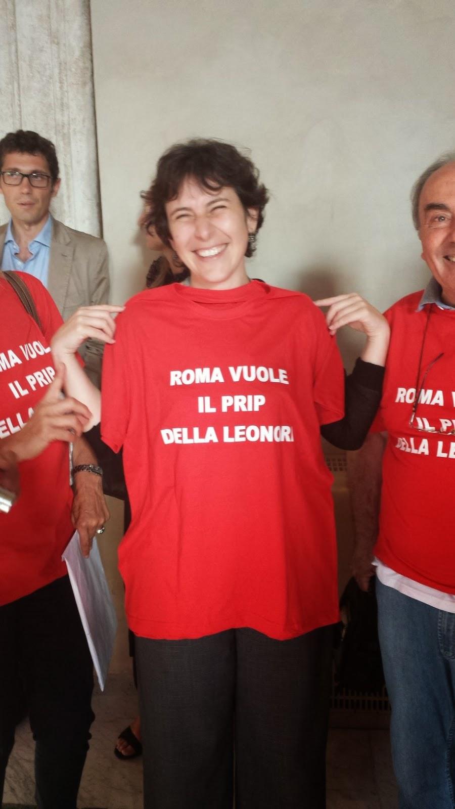 Marta Leonori maglietta Prip