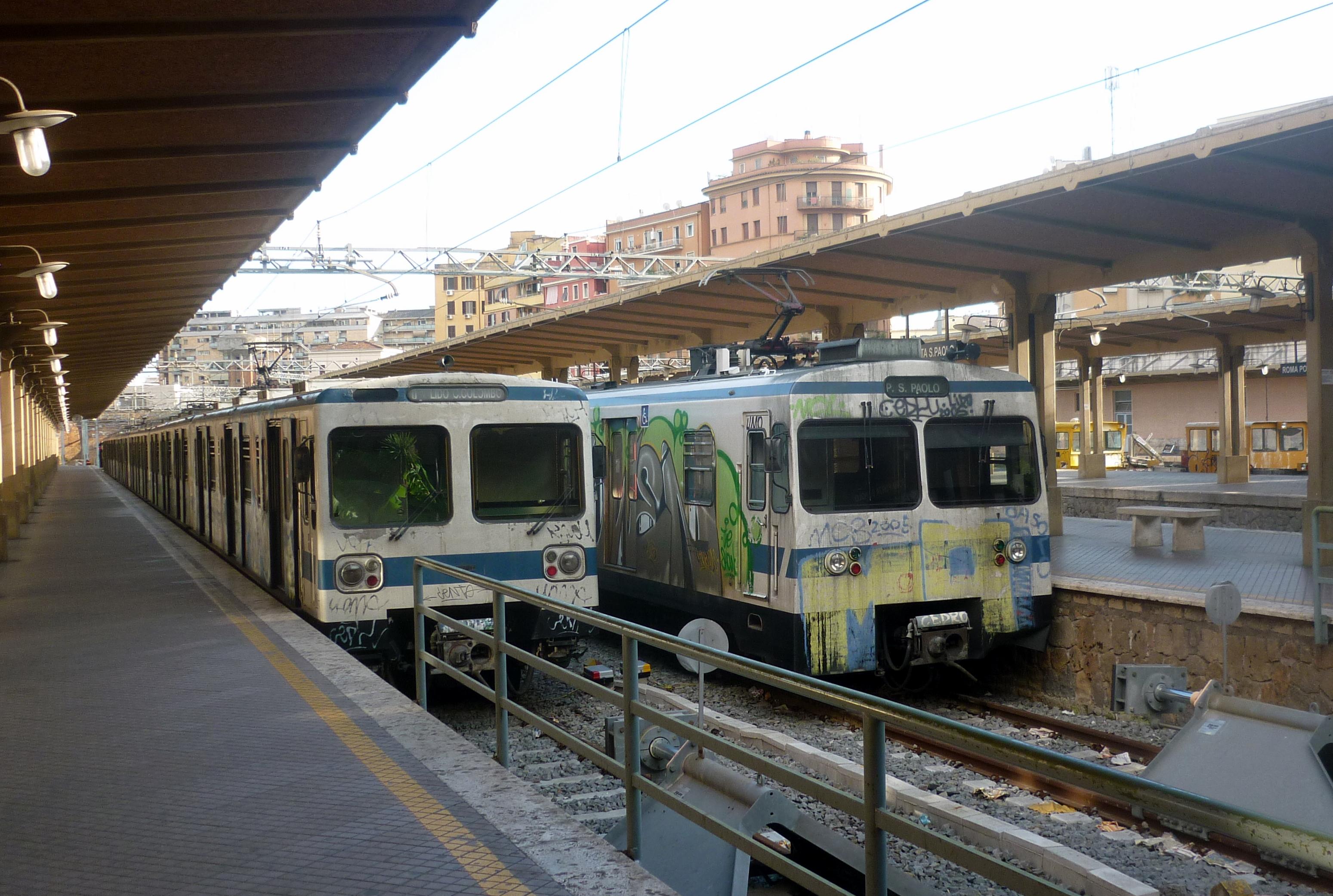 Treno Roma Lido