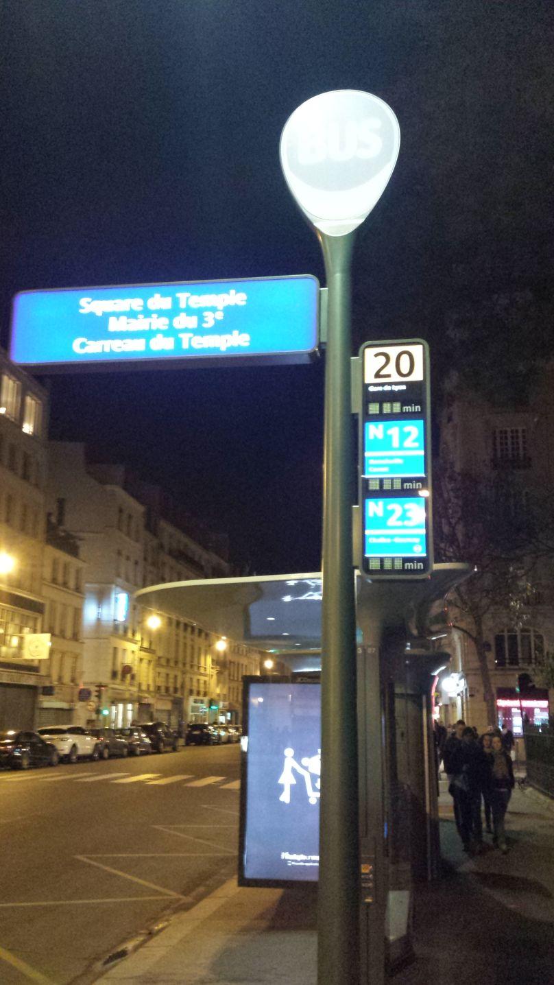 fermate bus parigi