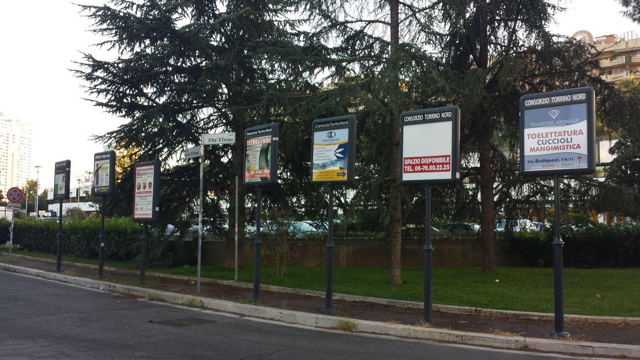 Torrino multi cartelli