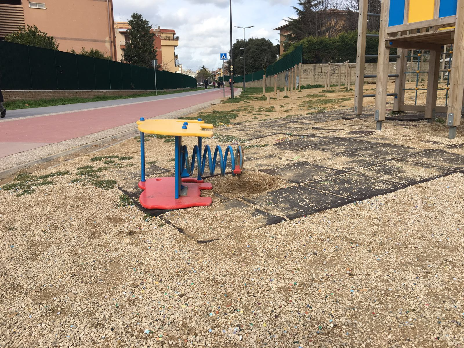 Ciclabile Monte Mario Degrado