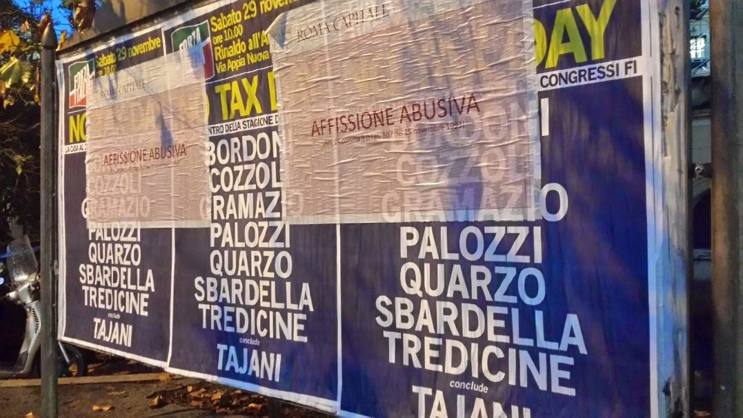 Manifesto abusivo Gramazio