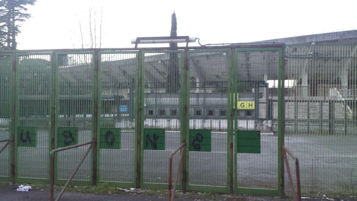 Stadio Flaminio degrado 4
