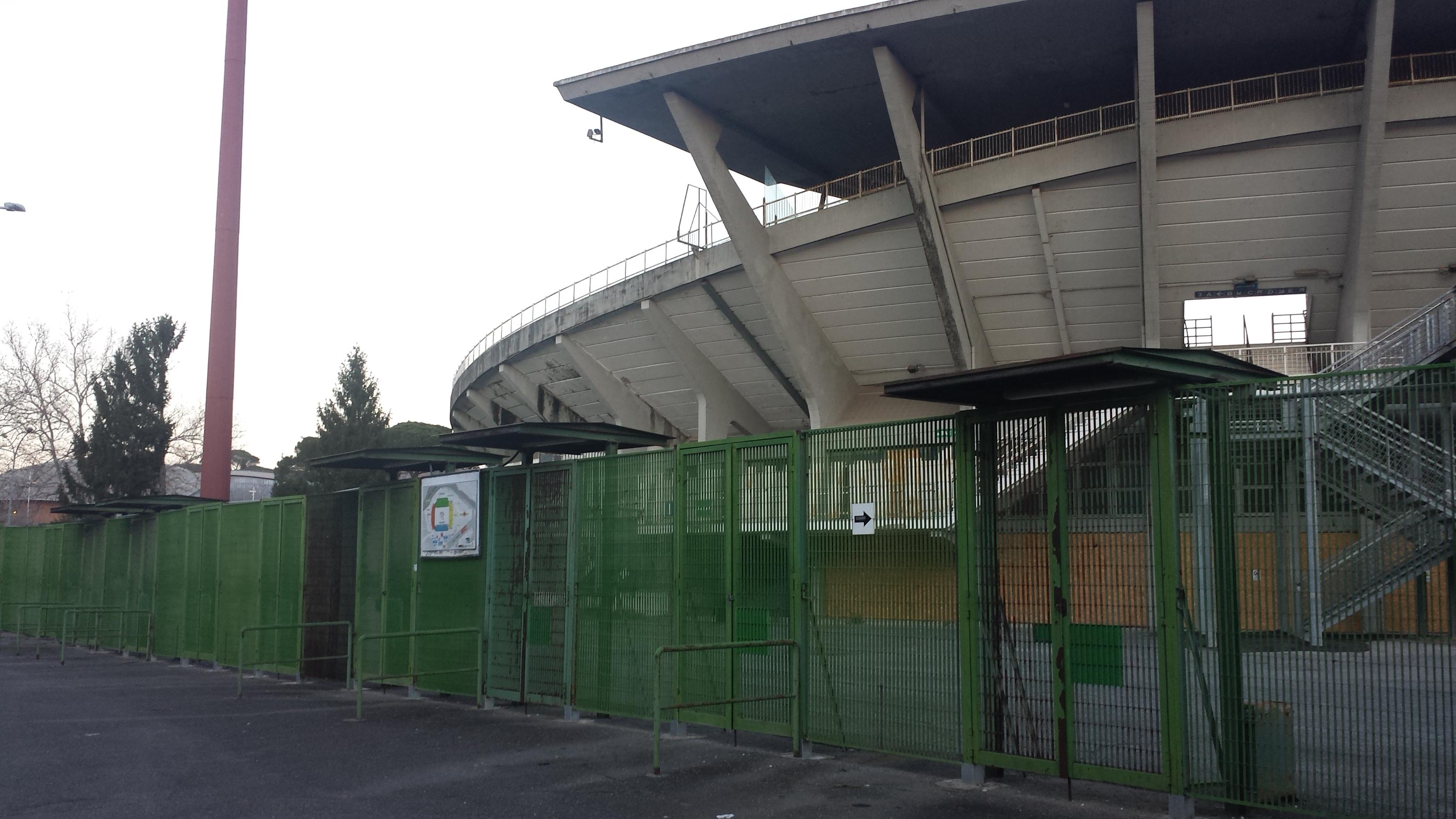 Stadio Flaminio degrado 6