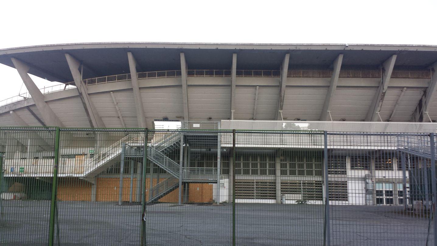 Stadio Flaminio degrado 7