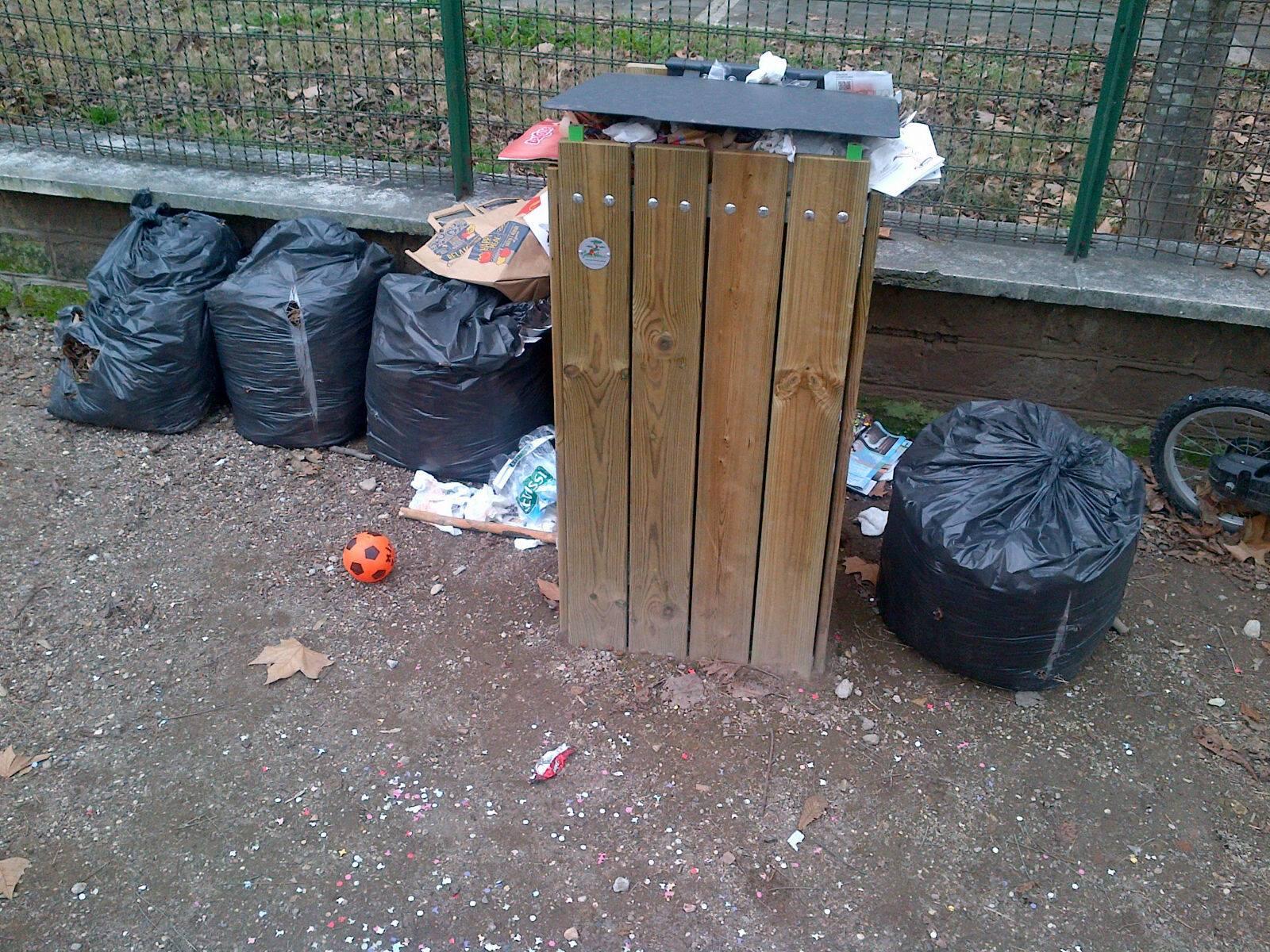 parco resistenza rifiuti