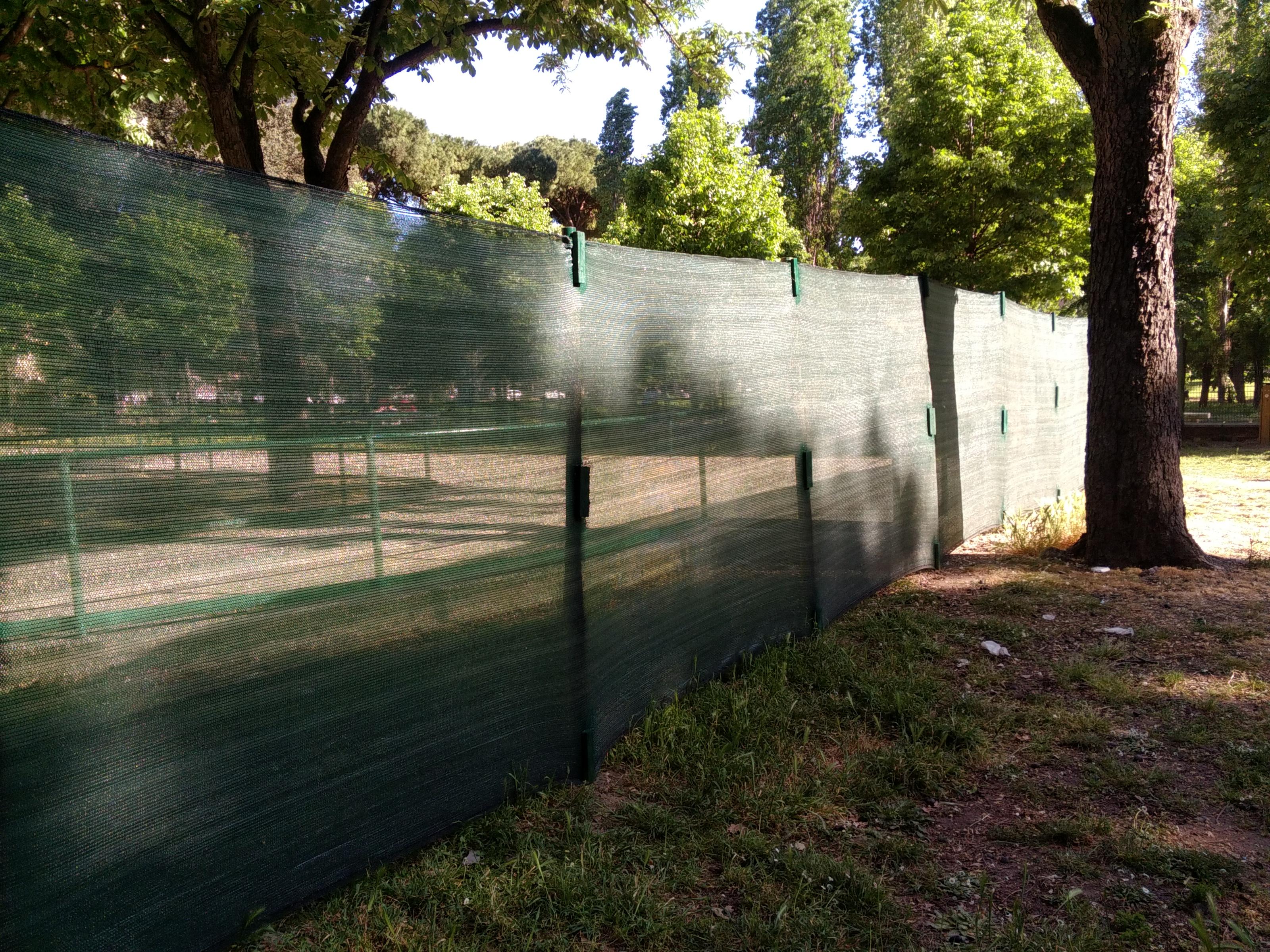 Parco Resistenza recinzione abusiva 3