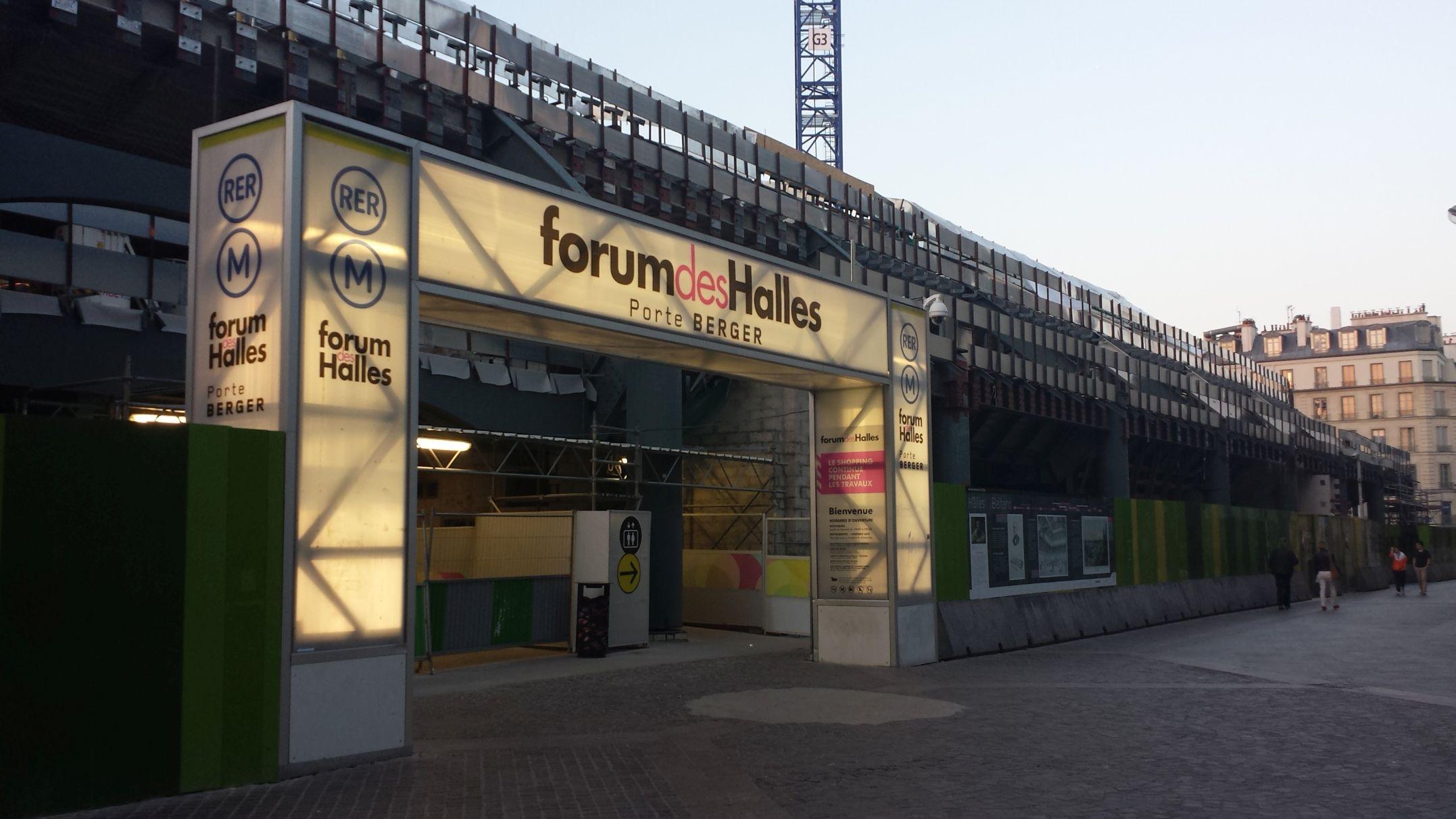 Parigi Forum Les Halles