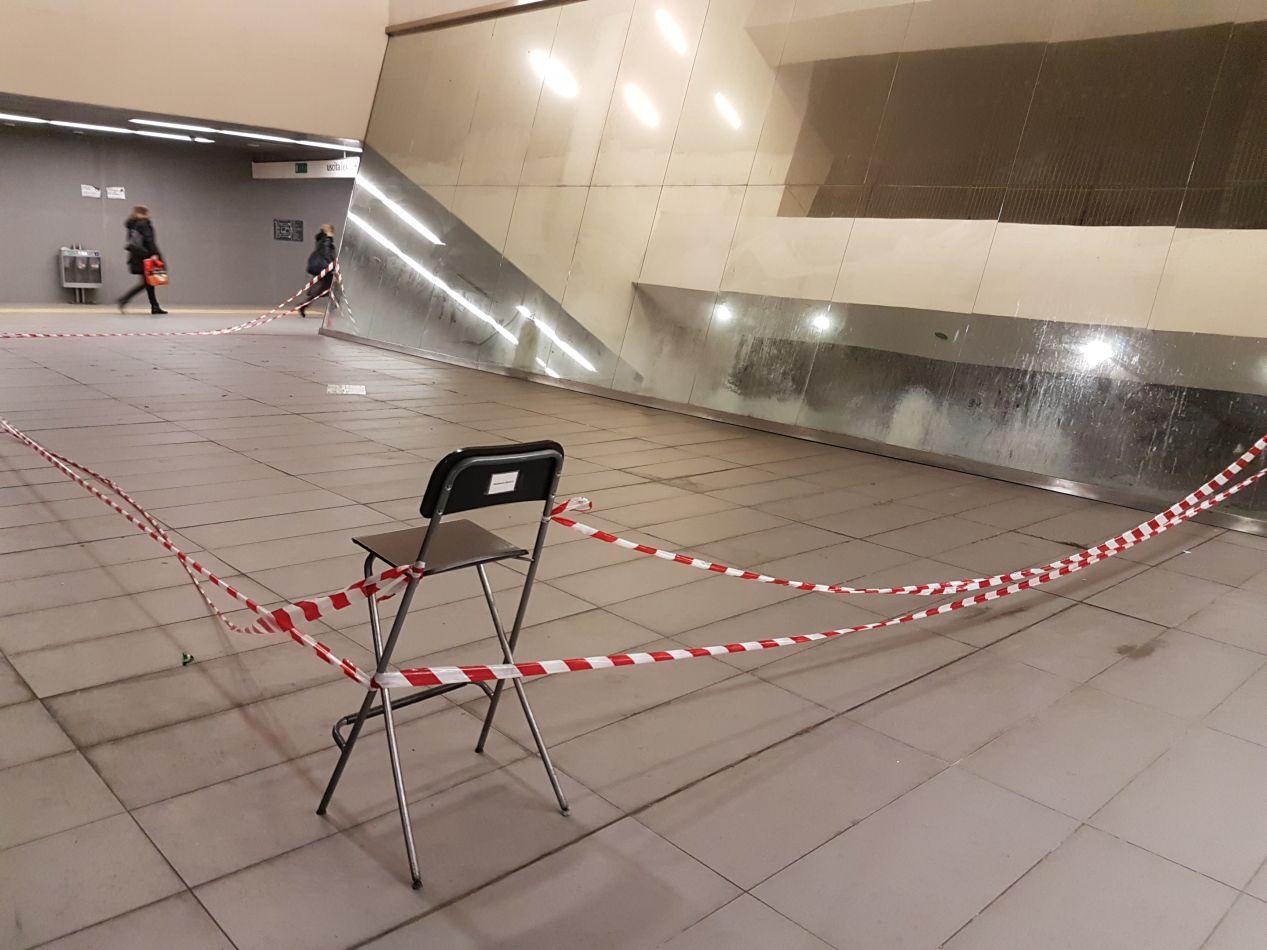 Fermata Metro libia