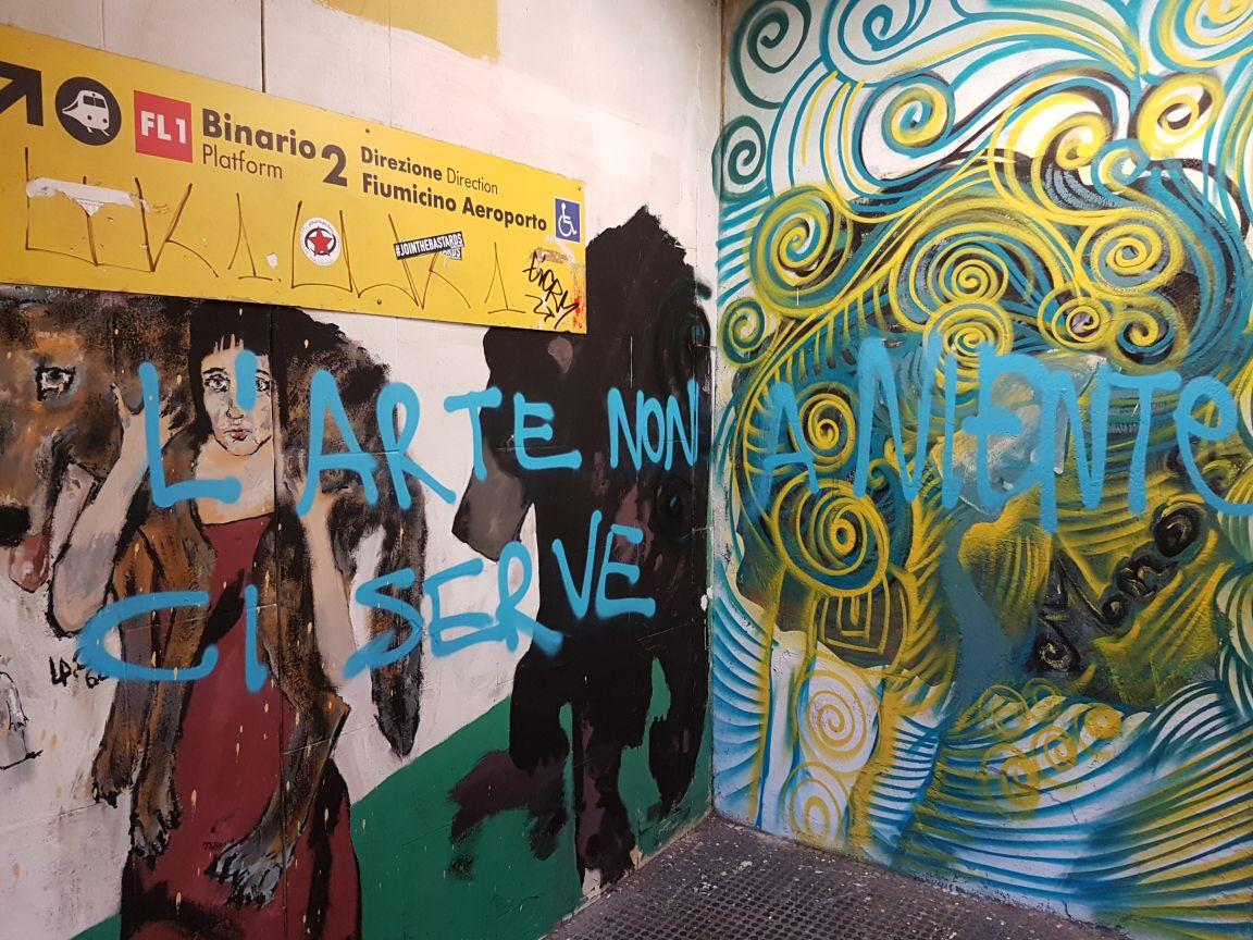 Graffiti staz nomentana2