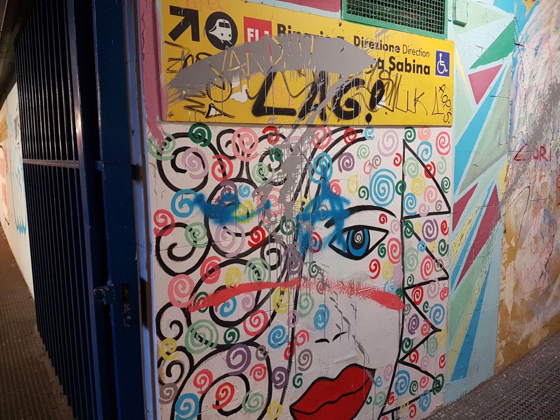 Graffiti staz nomentana3