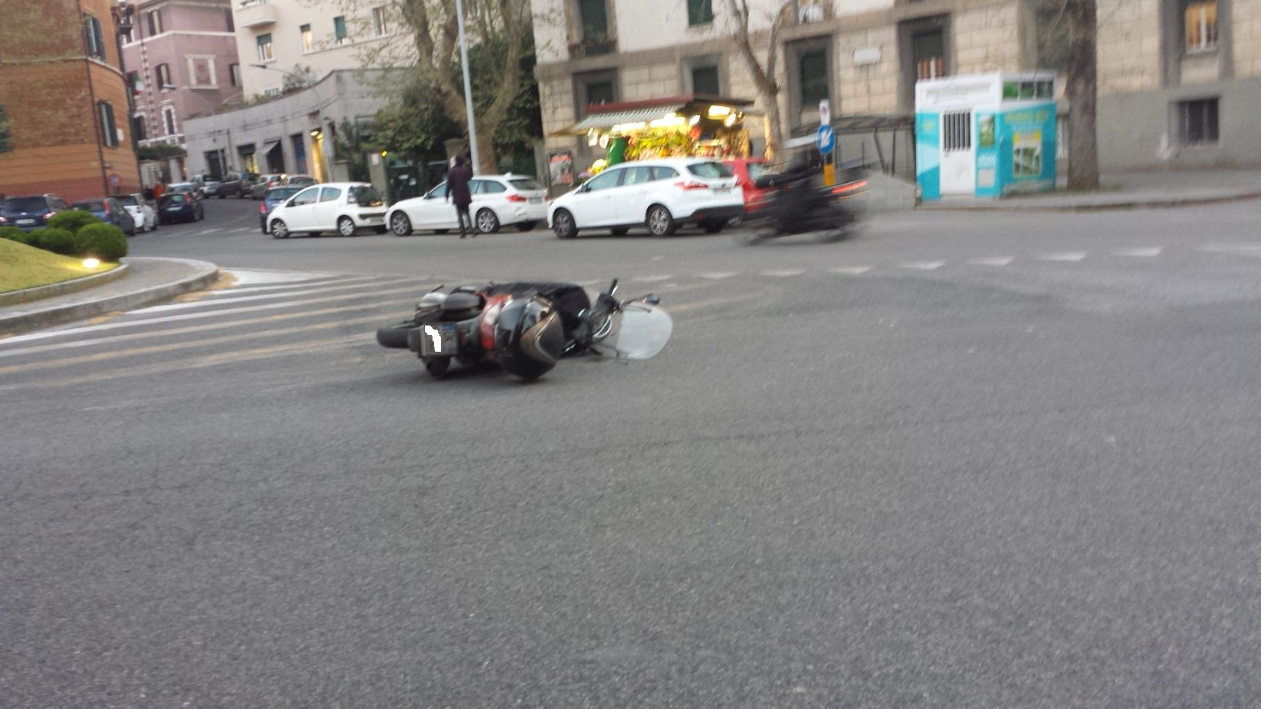motorino incidente