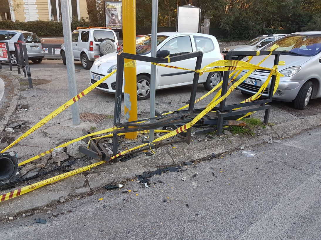 Parapedonali incidente