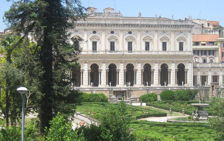 villa albani edificio principale