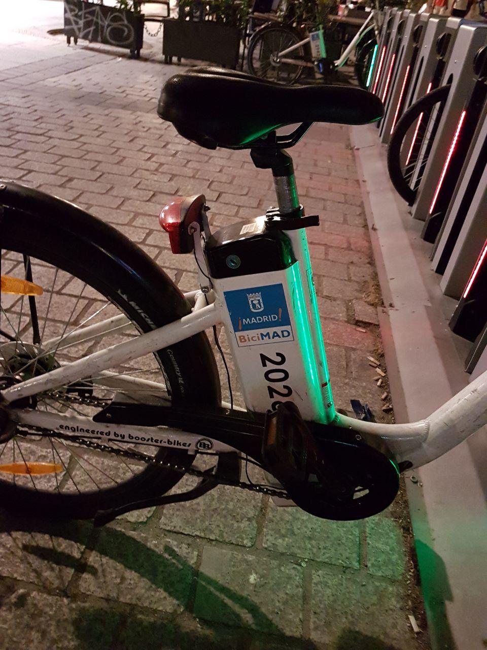 bike sharing madrid