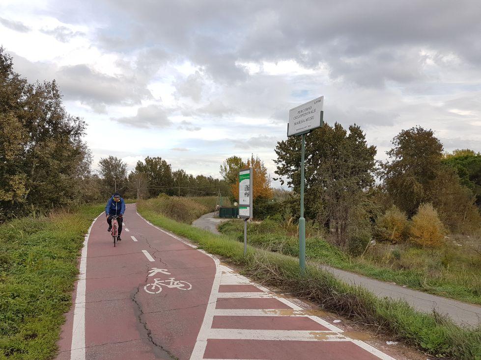 Ciclabile ponte milvio2