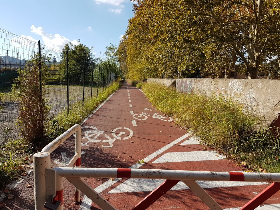 Ciclabile ponte milvio3