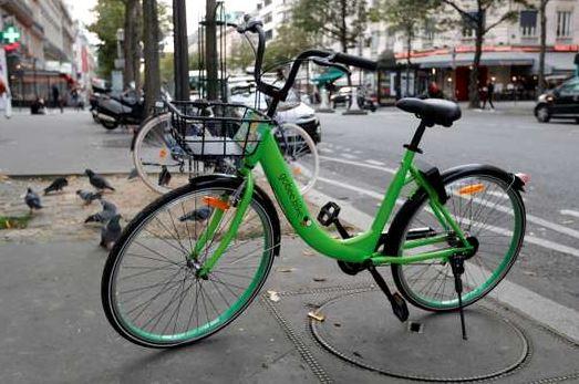 bici flusso libero parigi