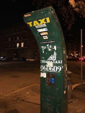colonnina taxi