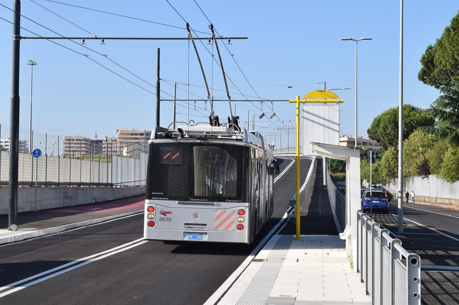 Il filobus Laurentina-Tor Pagnotta non sarà mai come una metro